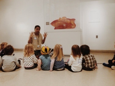 Gallery exploration at the Brooklyn Museum