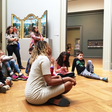 Questioning at the Met