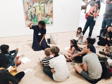 In-gallery activities