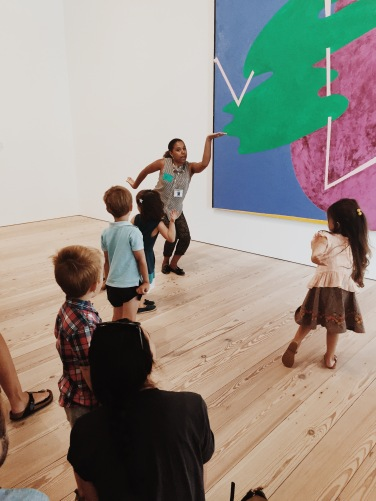 Movement activity at the Whitney